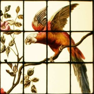 Victorian Stained Glass Image